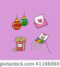 Celebration icons set for event day vector illustration 021 41166060