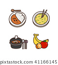 Vector - Related to life and daily flat icon set.047 41166145