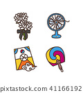 Vector - Related to life and daily flat icon set. 016 41166192
