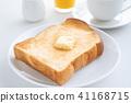 ขนมปัง,ขนมปังขาว,เนย 41168715