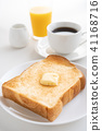 ขนมปัง,ขนมปังขาว,เนย 41168716