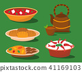 Chinese cuisine tradition food dish delicious asia dinner meal china lunch cooked vector 41169103