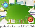 Back to school stationery vector illustration 41170266