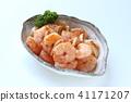 peeled, shrimp, prawn 41171207