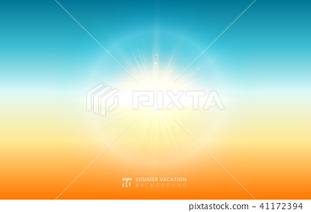 Abstract nature blurred sky background summer 41172394