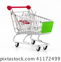 Italian shopping cart 41172499