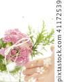 반지, 꽃, 플라워 41172539