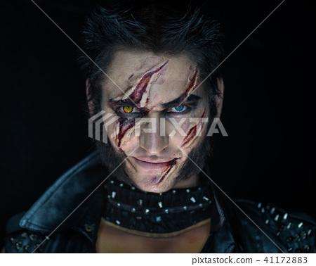 Professional make-up werewolf Wolverine 41172883