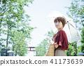 เดินทางหญิง Kamakura เดินรถสั้นเดินคนเดียว 41173639