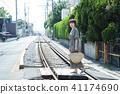여성 여행 쇼난 에노시마 짧은 여행 산책 산책 홀로 여행 41174690