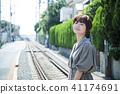 ผู้หญิงเดินทาง Shonan Enoden Short Trip เดินเล่นคนเดียว 41174691