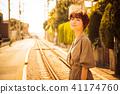 เดินทางหญิง Kamakura เดินตอนเย็นเดินเพียงลำพัง 41174760
