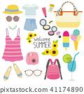 夏季时装插画(2) 41174890