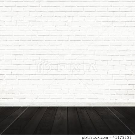 白墙 - 砖 - 地板 - 地板 41175255