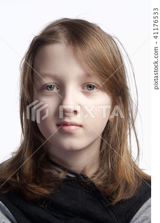 Portrait of a Boy with Long Hair 41176533