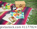 피크닉 레저 공원 점심 요리 41177824