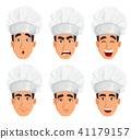chef cook cartoon 41179157