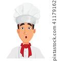 chef cook cartoon 41179162