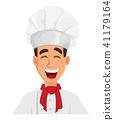 chef cook cartoon 41179164