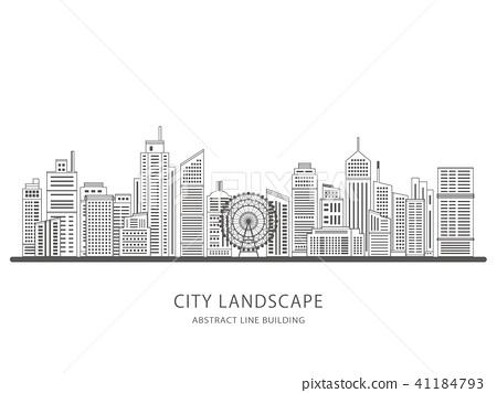城市 城市風光 城市景觀 41184793