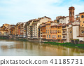 Old houses on the Arno River 41185731