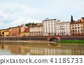 Old houses on the Arno River 41185733