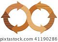 infinity, symbol, arrows 41190286