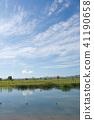 풍경, 경치, 연못 41190658