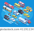business template transport 41191134
