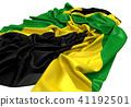 ธงประจำชาติของจาเมกา 41192501