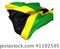 ธงประจำชาติของจาเมกา 41192505