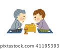shogi, person, male 41195393