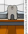ฟัน,หน้าเสีย,การแสดงออกทางสีหน้า 41201288