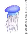 水母 生物 活的東西 41201309