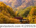 ฟุกุชิม่า,สะพาน,ฤดูใบไม้ร่วง 41205026