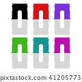 triumphal arch icon 41205773