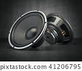 Sound speakers. Acoustic sound loudspeakers  41206795