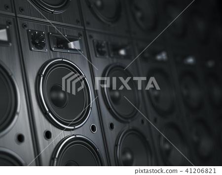 Multimedia  acoustic sound speaker system. 41206821