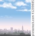 NewYork City, USA skyline. NYC, American Cityscape 41209685