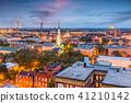 Savannah, Georgia, USA Skyline 41210142