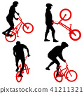 men, people, bike 41211321