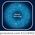 medical technology concept 41218462