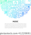 Music Line Concept 41220691