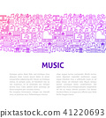 music vector background 41220693