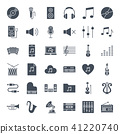 Music Solid Web Icons 41220740