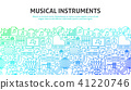 Musical Instruments Concept 41220746