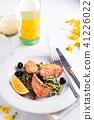dish, food, salmon 41226022