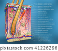 ross section of hair follicle with description 41226296