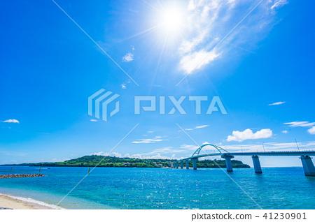 [沖繩縣] Sesoko橋 41230901