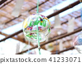 summer, wind chime, wind bell 41233071